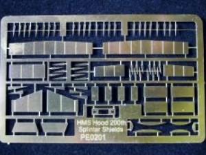 HMS Hood 200th scale new mini etch sets