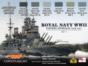 New Royal Navy Sets from Lifecolor