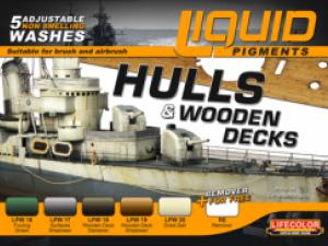 LifeColor Liquid Pigment Hulls & Wooden Decks set