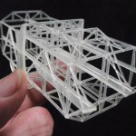 The 96th scale Seaslug Launcher frames are 3D printed