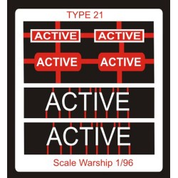 Type 21 Class Name Plate  96th- Active