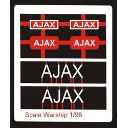 Leander Class Name Plate  96th- Ajax
