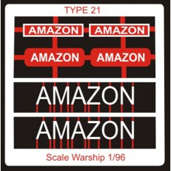 Type 21 Class Name Plate  96th- Amazon