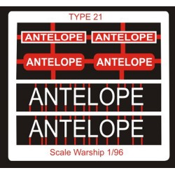 Type 21 Class Name Plate  96th- Antelope
