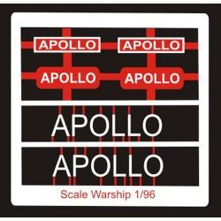 Leander Class Name Plate  96th- Apollo