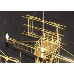 Type 41 Cat Class Early Version Lattice Foremast 72nd