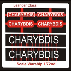 Leander Class Name Plate  72nd- Charybdis