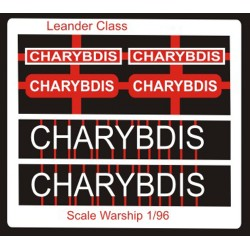 Leander Class Name Plate  96th- Charybdis