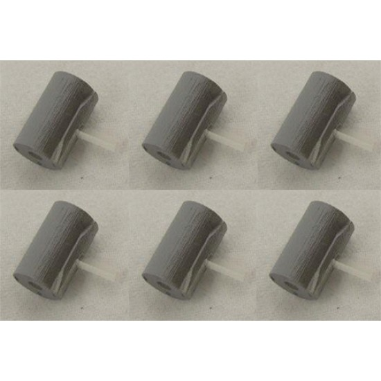 Depth Charge and Arbor for K-Gun (Pack of 6) 72nd scale