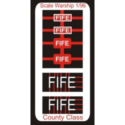 County Class Name Plate  96th- Fife
