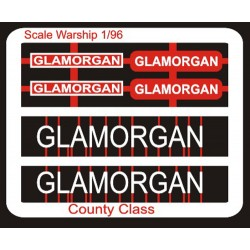County Class Name Plate  96th- Glamorgan