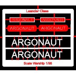 Leander Class Name Plate  96th- Argonaut