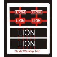 Tiger Class Name Plate  96th- Lion