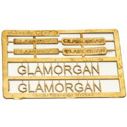 County Class Name Plate  72nd- Glamorgan