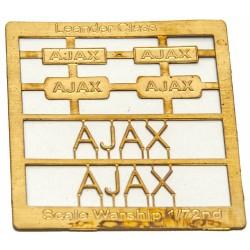 Leander Class Name Plate  72nd- Ajax