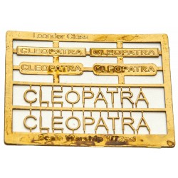 Leander Class Name Plate  72nd- Cleopatra