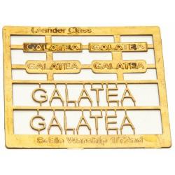 Leander Class Name Plate  72nd- Galatea