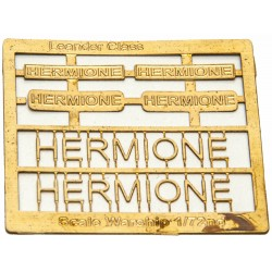 Leander Class Name Plate  72nd- Hermione