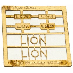 Tiger Class Name Plate  72nd- Lion