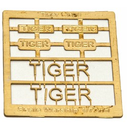 Tiger Class Name Plate  72nd- Tiger