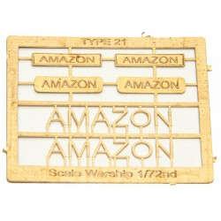 Type 21 Class Name Plate  72nd- Amazon