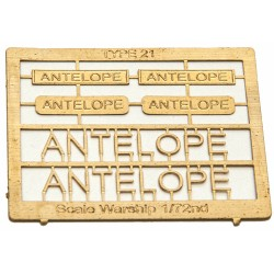 Type 21 Class Name Plate  72nd- Antelope