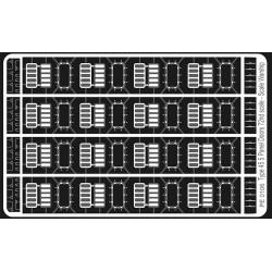 Type 45 (Daring) 5 Panel Doors 72nd