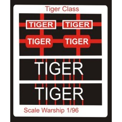 Tiger Class Name Plate  96th- Tiger
