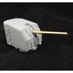 5 inch US Gun Mount 2 Slope 72nd scale